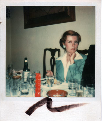 Tere Tereba: Photo by Andy Warhol