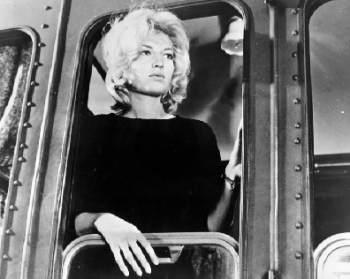 Monica Vitti in Antonioni's L'avventura
