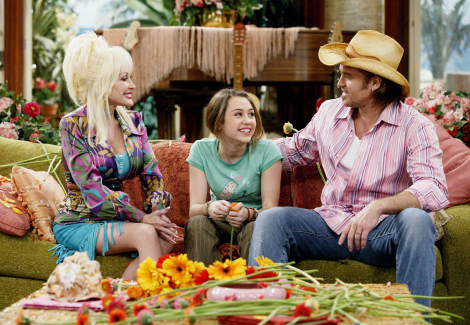 Dolly Parton, Miley & Billy Ray Cyrus