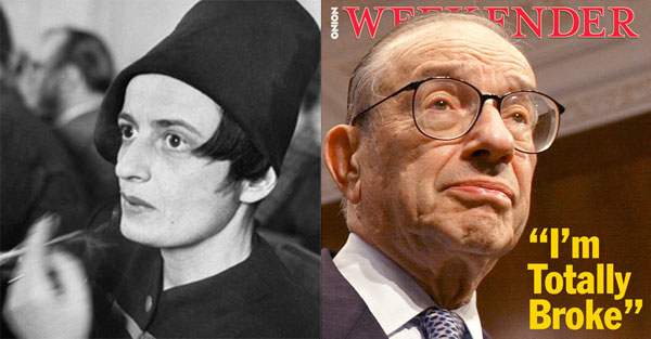 Ayn Rand - Alan Greenspan